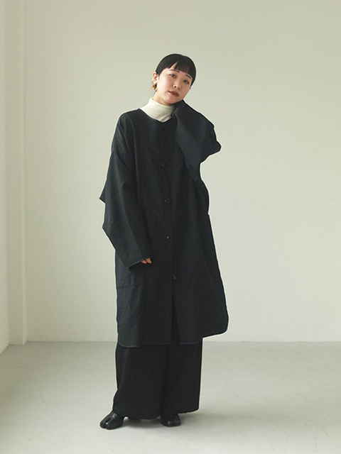 【SOLD OUT】TODAYFUL トゥデイフル/Nylon Rough Gown 12020004