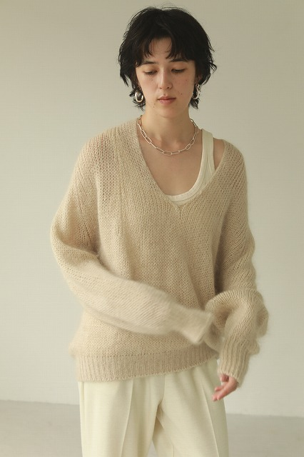 【SOLD OUT】TODAYFUL トゥデイフル/Wholegarment Vneck Knit 12020540