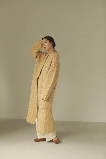TODAYFUL トゥデイフル/Quilting Knit Coat 12020012 【土日祝も16時まで即日発送(火曜以外)】