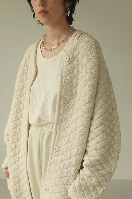 【SOLD OUT】TODAYFUL トゥデイフル/Quilting Knit Coat 12020012 【土日祝も16時まで即日発送(火曜以外)】