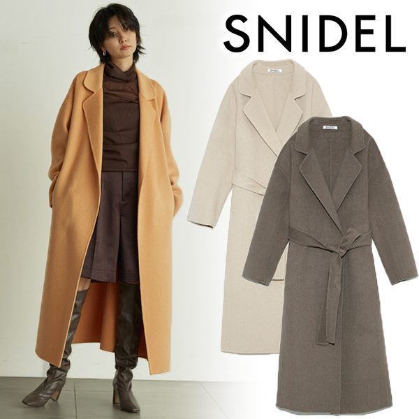 【SOLD OUT】\期間限定30%OFF/SNIDEL スナイデル/ロングリバーコート SWFC205011