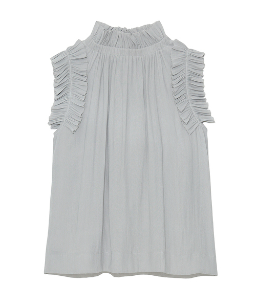 【SOLD OUT】\期間限定5%OFF/FRAY I.D フレイアイディー /ギャザーフリルバックリボンブラウス FWFB212012