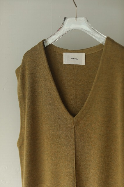 【SOLD OUT】TODAYFUL トゥデイフル/Vneck Knit Dress 12020314