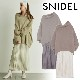 【SOLD OUT】\期間限定5%OFF/SNIDEL スナイデル/ワッシャープリーツレイヤードワンピース SWNO205034 【土日祝も16時まで即日発送(火曜以外)】