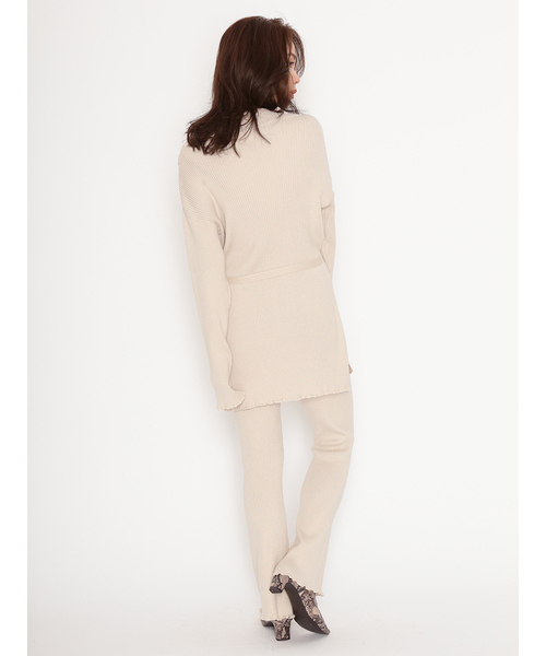 【SOLD OUT】\SALE40%OFF/SNIDEL スナイデル /リブニットセットアップ SWNO205037