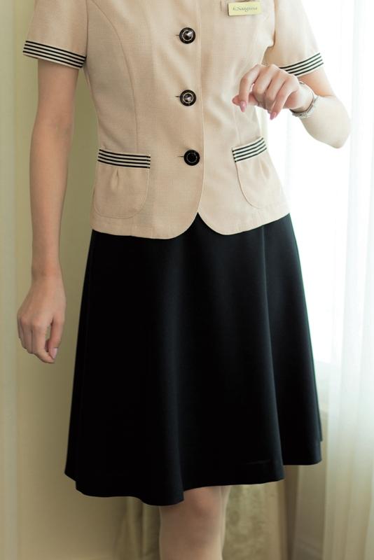 enjoie (アンジョア) フレアスカート 56304