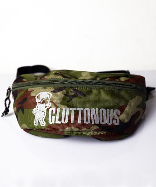 【GLUTTONOUS/グルトン】 リフレクターウエストポーチ