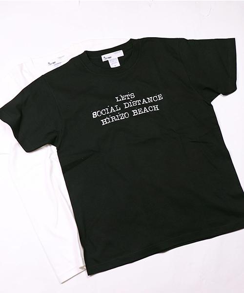 【GLUTTONOUS/ グルトン】 HIRIZO SOCIAL DISTANCE Tシャツ