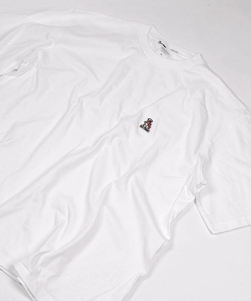 【GLUTTONOUS/ グルトン】 ワンポイントビックTシャツ