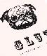 【GLUT/ジーエルユーティー】キャンバストート(PUG) Mサイズ