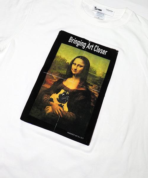 【GLUT/ジーエルユーティー】グラフィックアートTシャツ