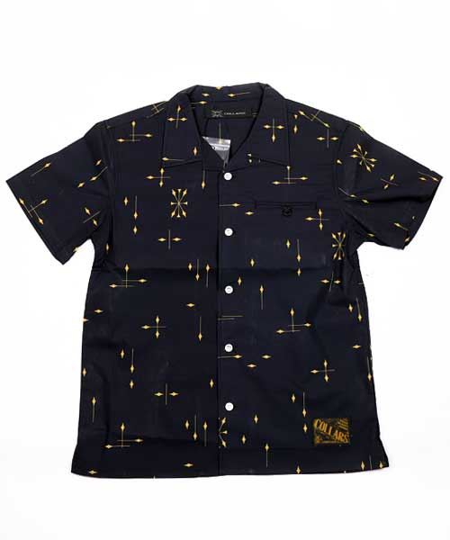 【COLLARS/ カラーズ】 初代武装戦線頭 鈴木恵三着用オープンカラーシャツ