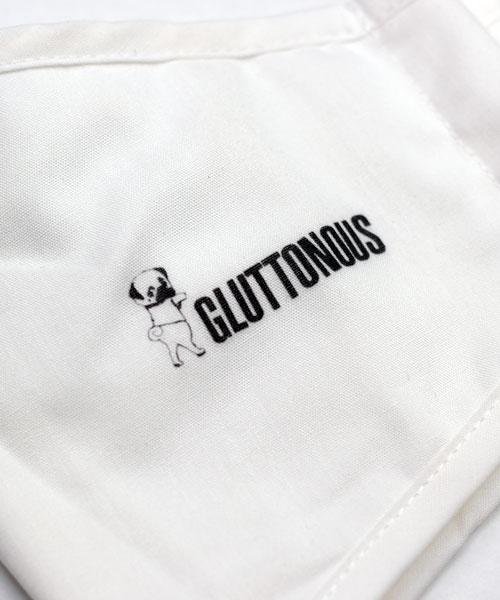 【GLUTTONOUS】立体コットンマスク2枚セット