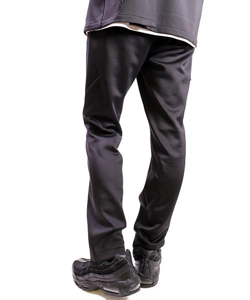 【Harlem Rounge/ハーレムラウンジ】セットアップ ジャージWテーラードジャケット ジャージストレートパンツ