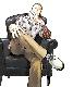 【COLLARS × HAGANE/ カラーズ×ハガネ】河内鉄生着用ジェネラルオックスフォードシューズ(WHITE FOX)