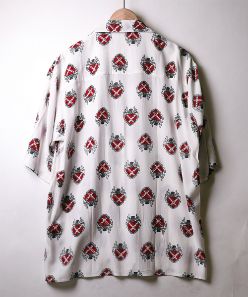【COLLARS/カラーズ】河内鉄生着用ビックシルエット オープンカラーアロハシャツ