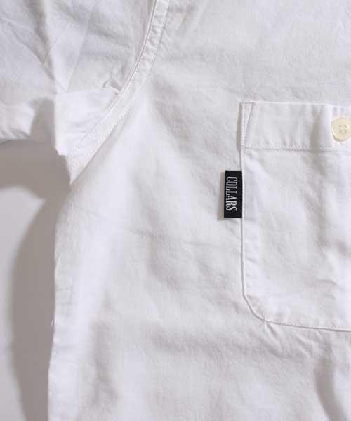 【COLLARS/ カラーズ】 ブラアンカフェ オープンカラーシャツ