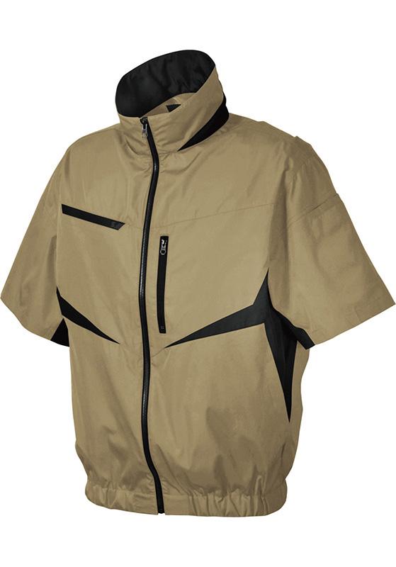 シンメン SHINMEN S-AIR 電動ファン対応 半袖EUROスタイルショートジャケット 05901