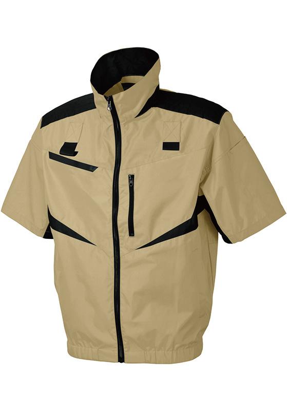 シンメン SHINMEN S-AIR 電動ファン対応 半袖フルハーネスショートジャケット 05951