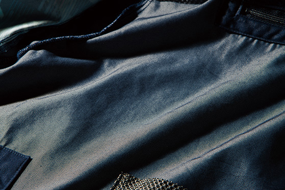 アイズフロンティア I'Z FRONTIER 空調服 エアーサイクロンシステム フルハーネス対応 フーディッドベスト CVC TWILL A.S HOODED VEST 10076
