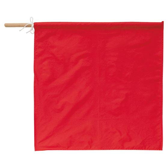 アイトス AITOZ 手旗(赤) AZ-67023