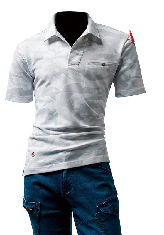 バートル BURTLE オープンカラーポロシャツ 4058
