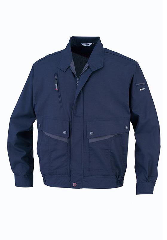 大川被服 OOKAWAHIFUKU  Kansai Uniform 長袖ブルゾン K4001