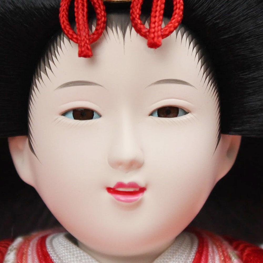 雛人形 お祝い ひな人形 収納飾り 親王飾り 2人飾り 二人飾り 親王収納箱飾り 収納箱 三曲屏風 エンジ 梅 おしゃれ かわいい 可愛い コンパクト モダン