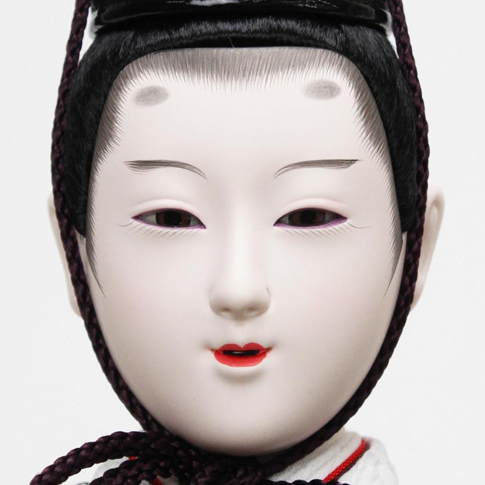 雛人形 お祝い ひな人形 立雛飾り たちびな 立ち雛 台付 黒塗 親王飾り 2人飾り 二人飾り バック しだれ桜 おしゃれ かわいい 可愛い 優美 優雅 モダン