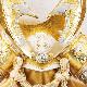 五月人形 5月人形 兜飾り ケース飾り 山城 白 おしゃれ お洒落 かっこいい コンパクト