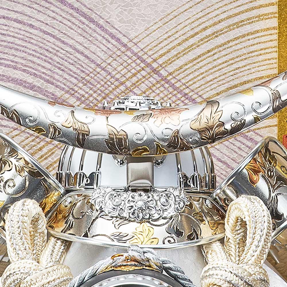 五月人形 5月人形 兜飾り ケース飾り 伊達政宗 六角 勇斗 オーク おしゃれ お洒落 かっこいい コンパクト