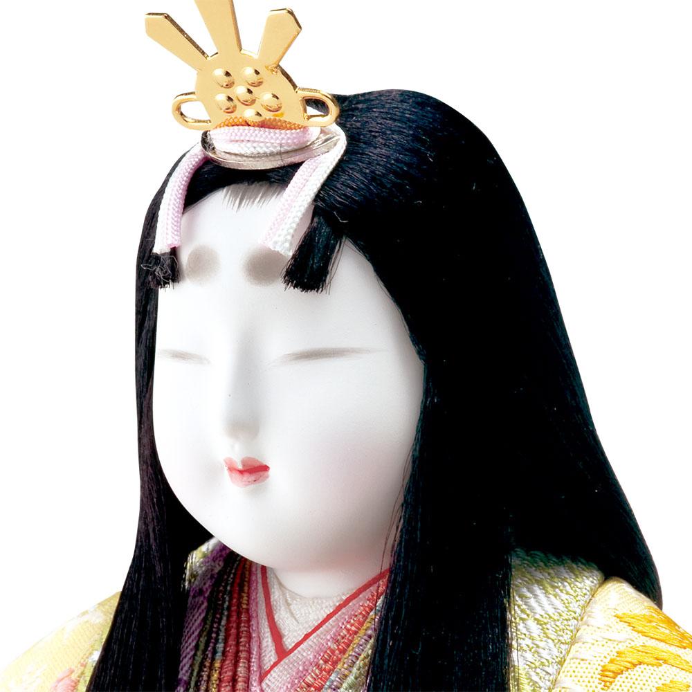 雛人形 真多呂 木目込み 高級 モダン 古今段飾り香住雛17人揃 五段飾り