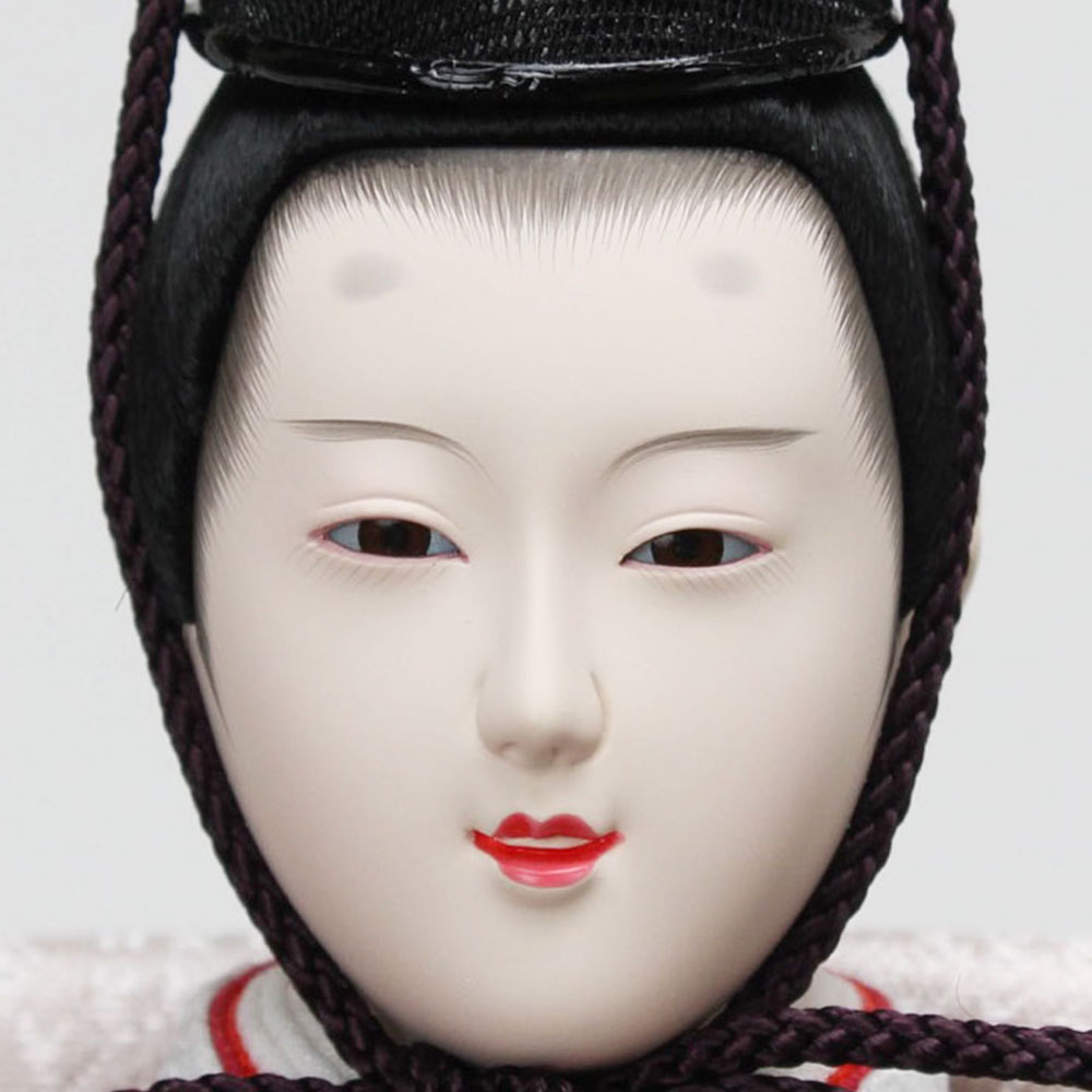 雛人形 お祝い ひな人形 3段 三段 5人飾り 五人飾り 節句人形工芸士 二代目 優香 塗桐 オーク色 おしゃれ かわいい 可愛い モダン