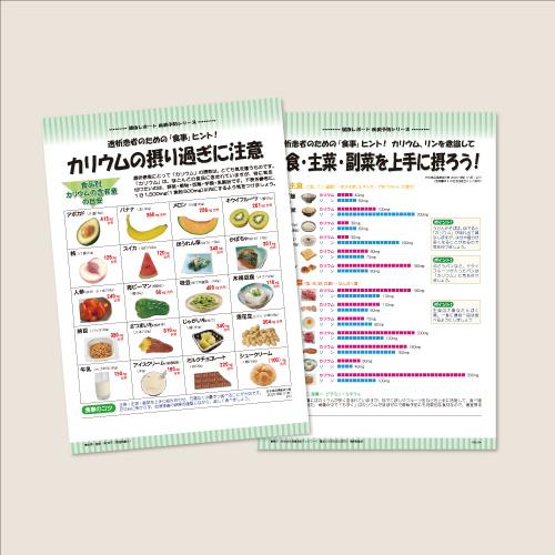 〈レポート No,169〉透析患者のための「食事」ヒント!  カリウムの摂り過ぎに注意