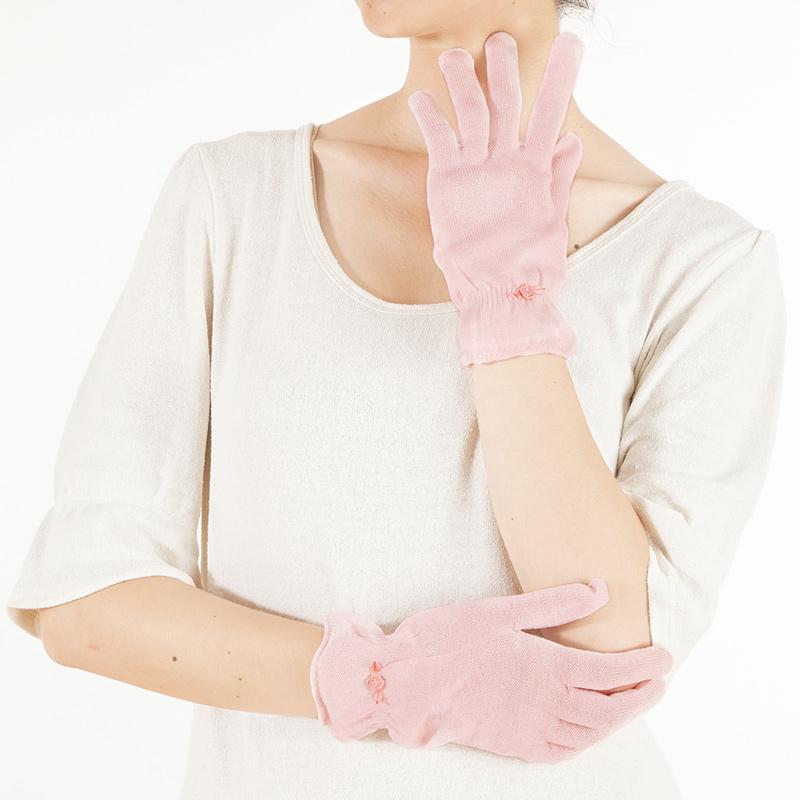 ネルネシルクおやすみ手袋