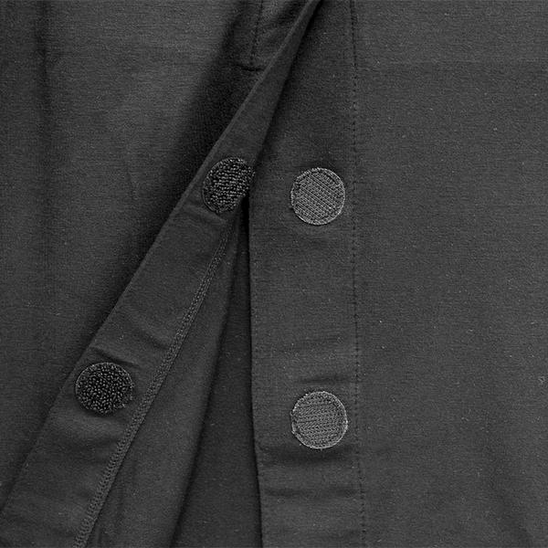 カップ付き前開きインナー(長袖)