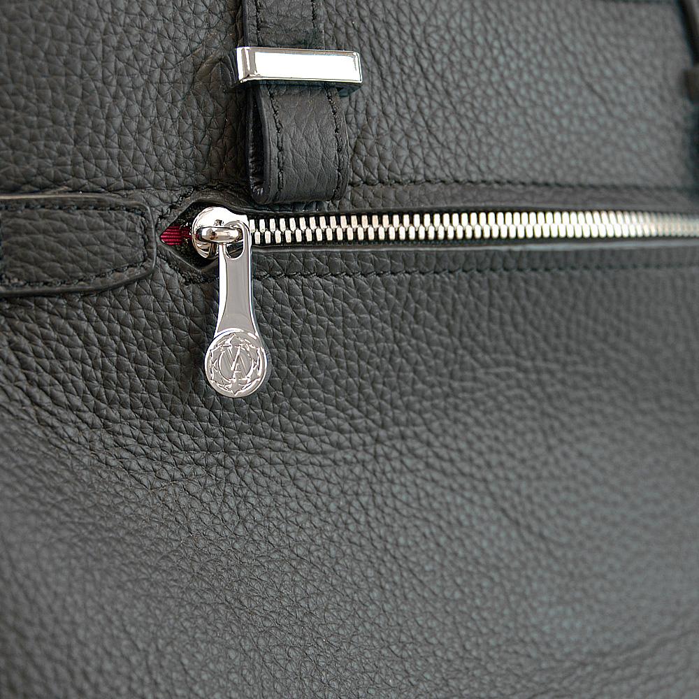leather ribbon tote bag