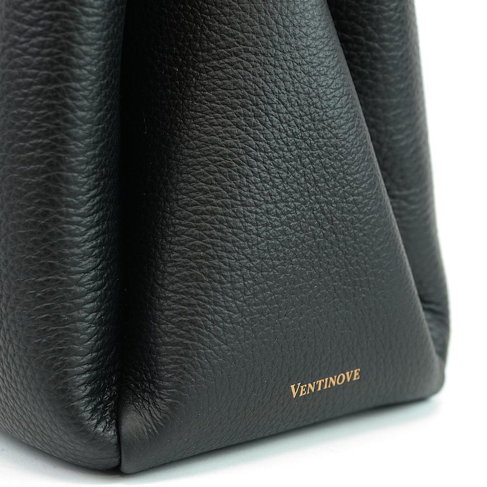 【otto】leather flap handbag
