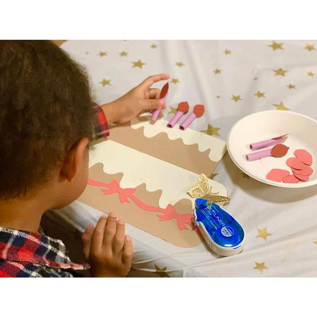 MP-60214 簡単スタイリングバースデーキット【親子で作るバースデーケーキの壁面デコレーション】