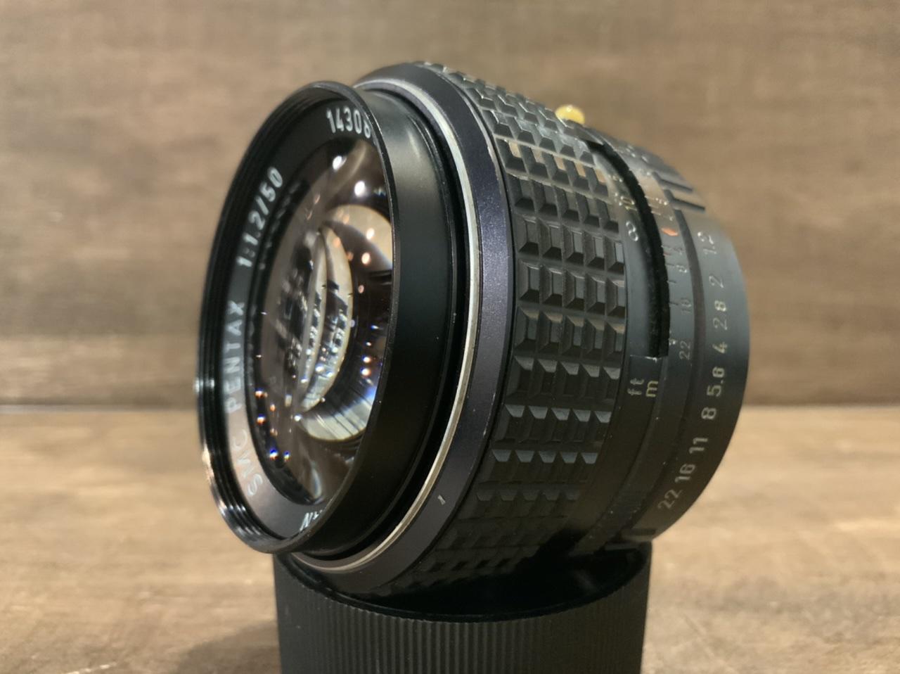 PENTAX SMCペンタ 50mm F1.2 (PK) 【程度 B】