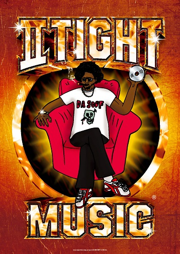 IITIGHTMUSIC AFRO-KUN HOLOGLAM POSTER LIMITED 40COPIES