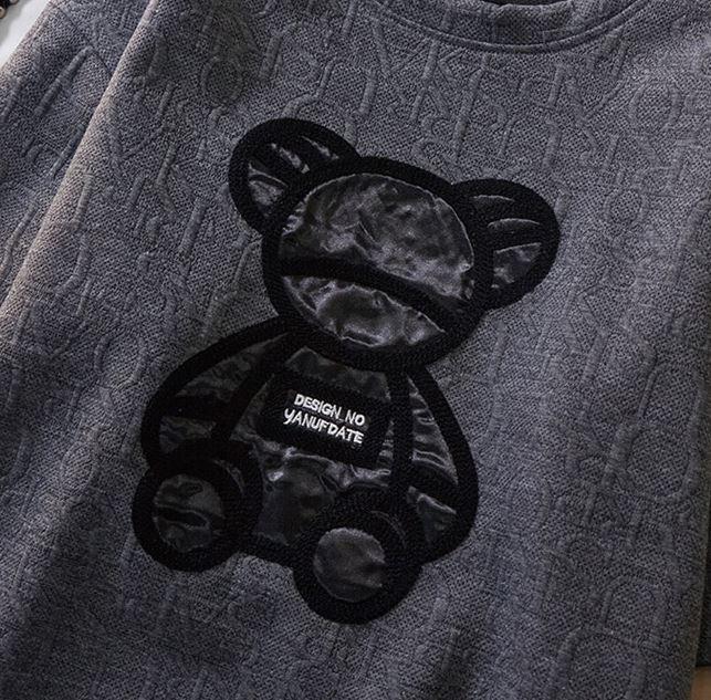 【2色】くまたん アルファベット Tシャツ