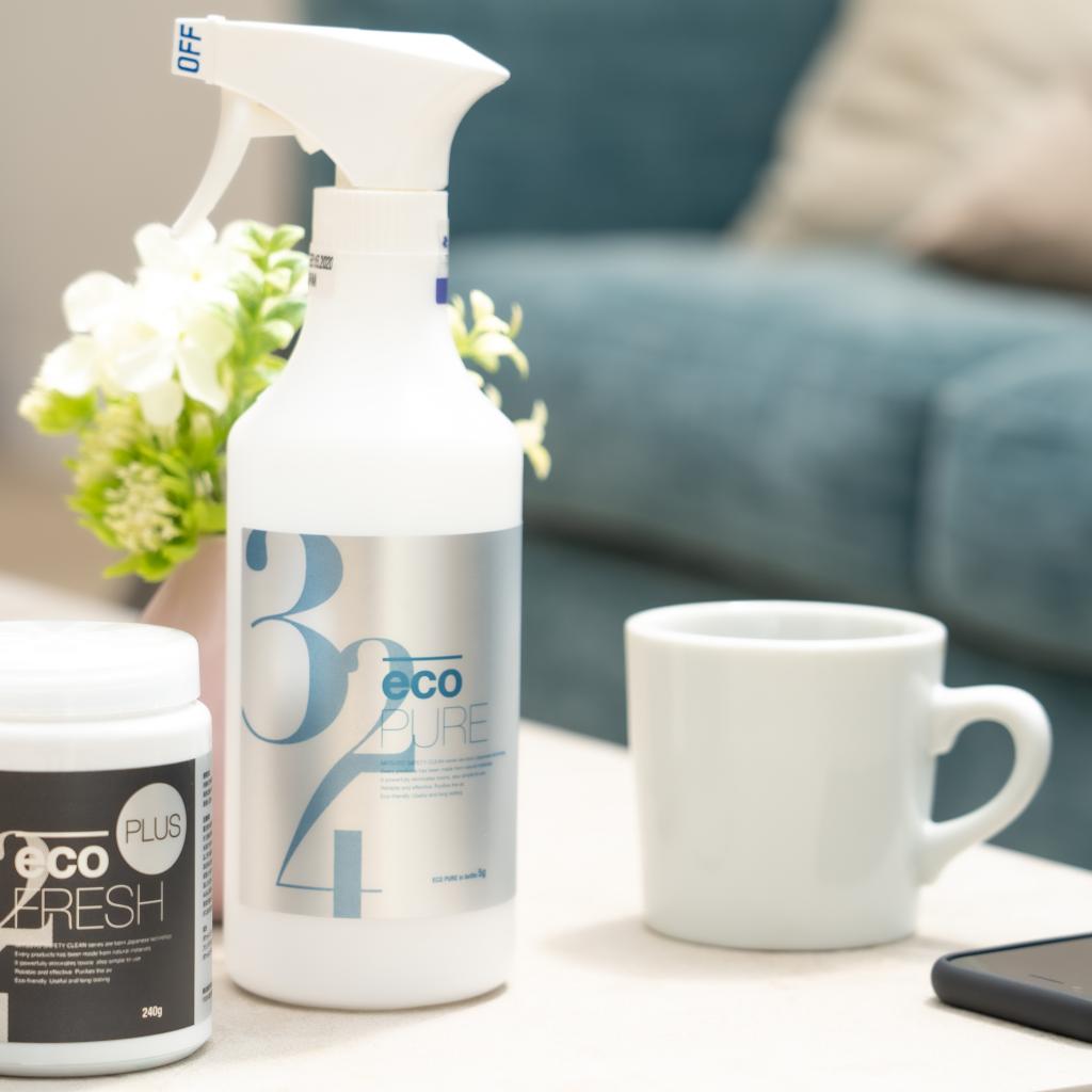 ecoPURE + 500ml専用ボトル 1セット