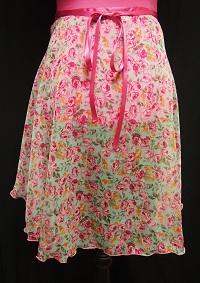 シルキータッチ巻きスカート