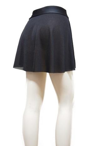 エアリースカートプレーンS丈(プルオンスカート)