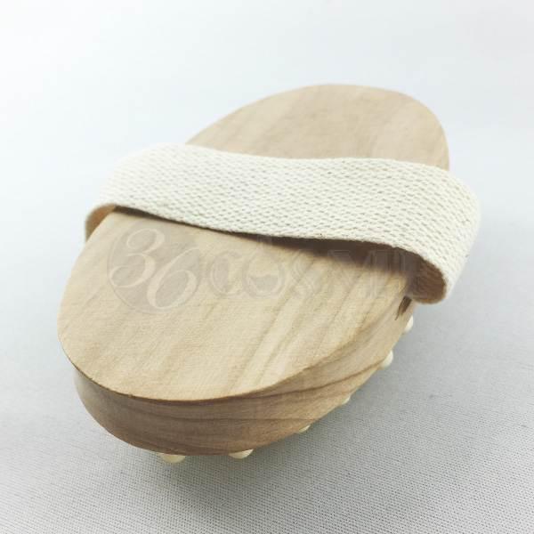 <アウトレット50%オフ>スリミングウッドブラシ(木製)