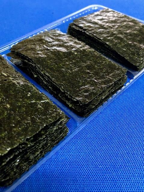 処分市 大人の おやつのり 味付け海苔 黒胡椒 4本分 訳あり 海苔 木更津一源