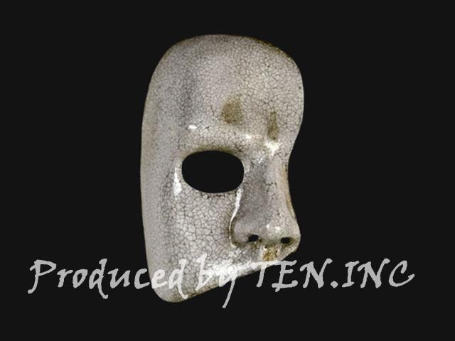 ベネチアンマスク Fantasma dell Opera Craquele