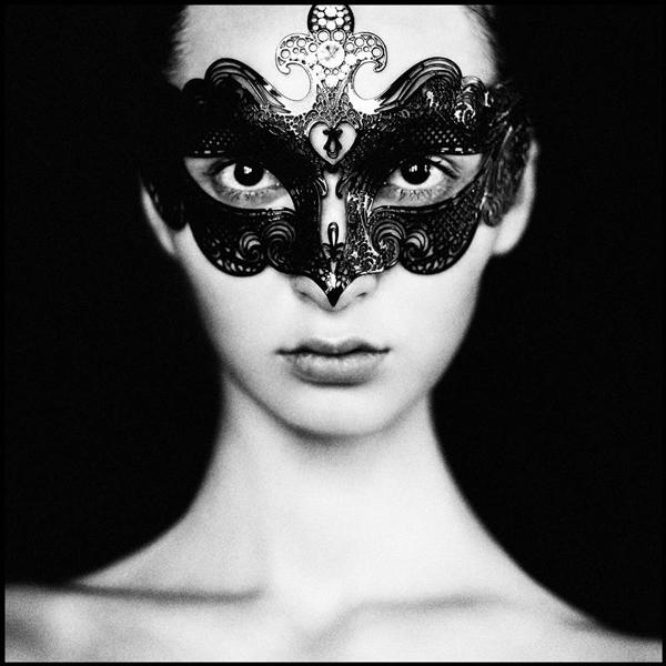 ベネチアンマスクGala Metallo Black