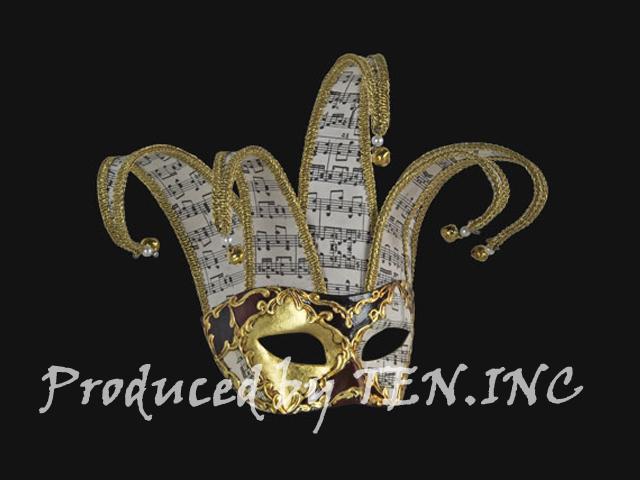 ベネチアンマスク Colombina Jolly Musica